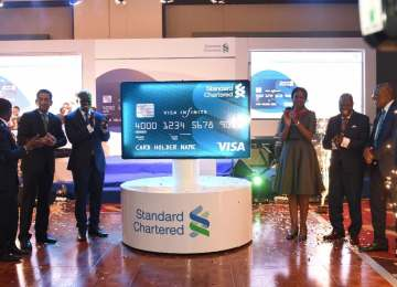 Standard Chartered Bank Launches Its Credit Card Products In Ghana