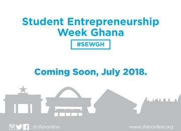 Get Ready For The Student Entrepreneurship Week In July #SEWGH