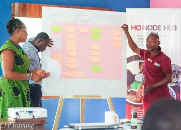 Ho Node Hub Trains 82 Entrepreneurs In The Volta Region