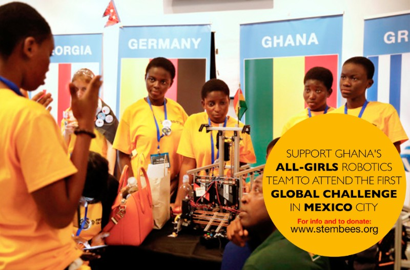 Ghana's All-Girls Robotics Team to Participate in International