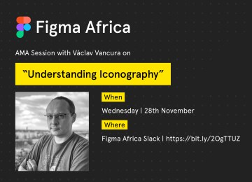 "Figma Africa AMA Session: ""Understanding Iconography"" With Vaclav Vancura"