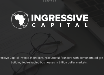 Ingressive Capital Launches Online Platform For African Tech Startups To Apply For Fundraising