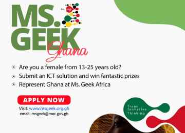 """Ministry of Communication Launches """"Ms Geek Accra"""" Competition"""
