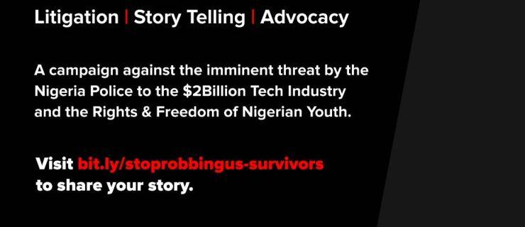 #StopRobbingUs Campaign Calls for Survivors to Come Forward