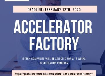 Ghana Innovation Hub Calls For Applications For Its Accelerator Factory Program