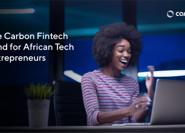 """Carbon Launches """"Disrupt Fund"""", A $100,000 Entrepreneurship Fund For African startups"""