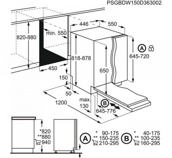 FSE63400P съдомиялна за вграждане 1