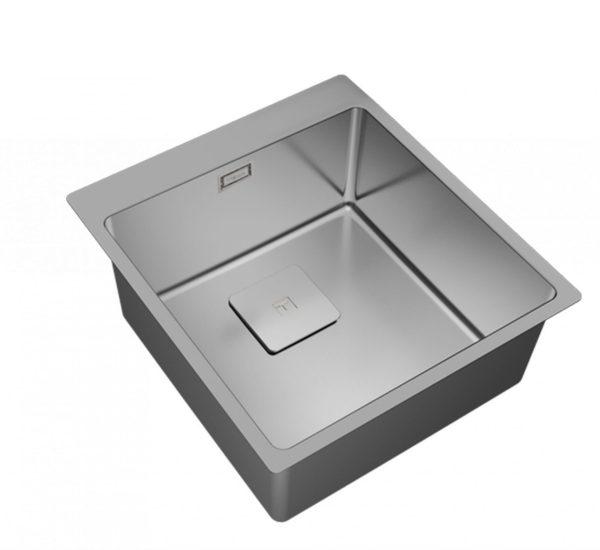 мивка за вграждане гладка за шкаф със светъл отвор 50 см FORLINEA RS15 40.40 1