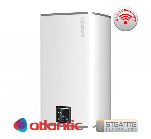 бойлер 75 литра Steatite CUBE със сух керамичен нагревател и Wi Fi за вертикален монтаж