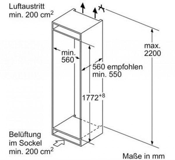 BOSCH Хладилник за вграждане KIS86AF30 A 268л.jpg 5