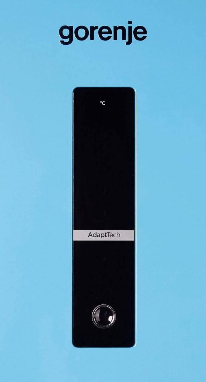 hladilnik s frizer za vgrajdane gorenje k8990dbl 185sm nofrost multiflow 5