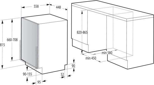 sudomiqlna za vgrajdane gorenje gv52040 9 komplekta 45sm 7