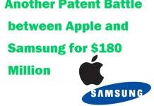 another Patent Battle with Samsung for $180 Million