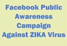 Facebook Public Awareness Campaign Against ZIKA Virus