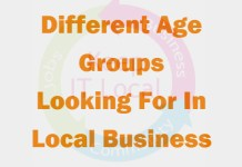 Different Age Groups Looking For In Local Business