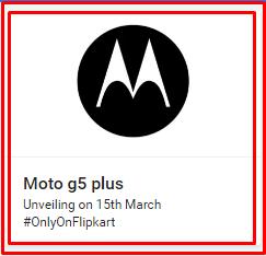 Moto G5 Flipkart