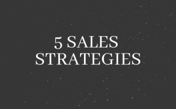 5 sales strategies