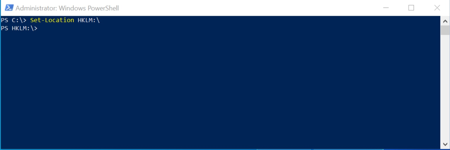 How to Change a Registry Path in PowerShell