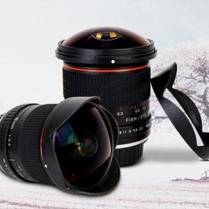 Neewer Pro 8mm f3.5 Aspherical HD Fisheye Lens