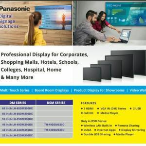 Panasonic LH-Series Full HD commercial display