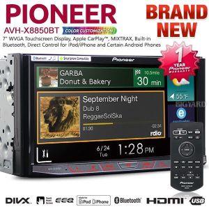 Pioneer AVH-X8850BT Bluetooth In-Dash Multimedia Player