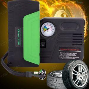 Multi-functional Car Air Pump Jump Starter Emergency Power Bank Charger