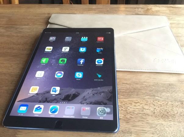 iPad Pro 10.5inch(mid 2017)を購入しました