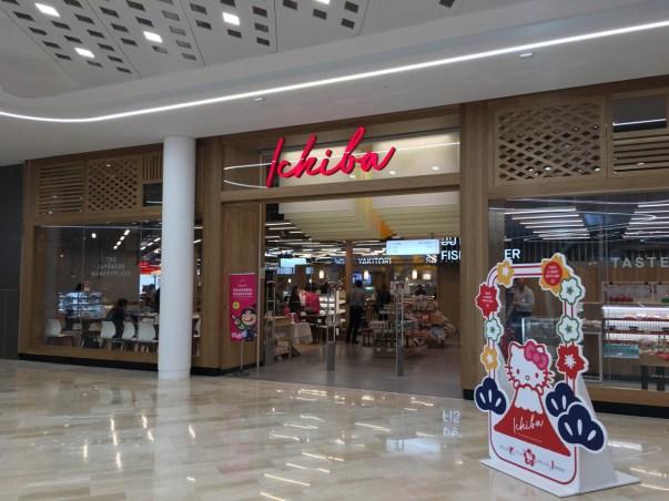 JAPAN CENTREの新店舗「ICHIBA」(Westfieldモール内)に来ています