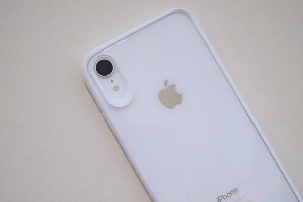 「白」が映えるTOZOのiPhone ⅩR用ケース