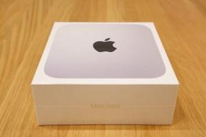 M1 Mac mini(2020)が到着しました