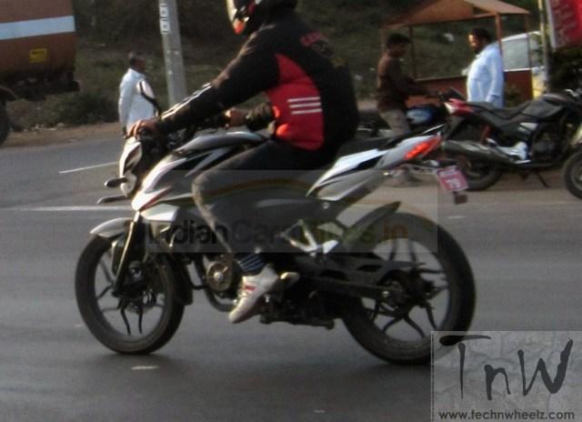 Bajaj Pulsar 150 spy pic rear