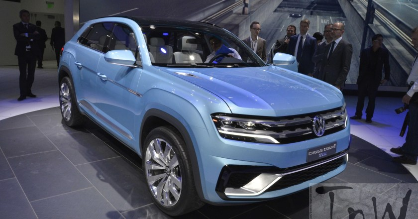 2015 NAIAS Detroit : Volkswagen Cross Coupe GTE [Image Gallery]