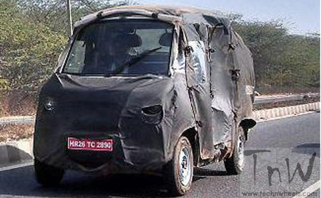 Eicher-Polaris  joint venture LCV spy pic
