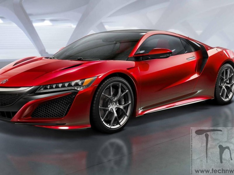 2015 NAIAS Detroit : Next-Generation Acura NSX unveiled at Detroit