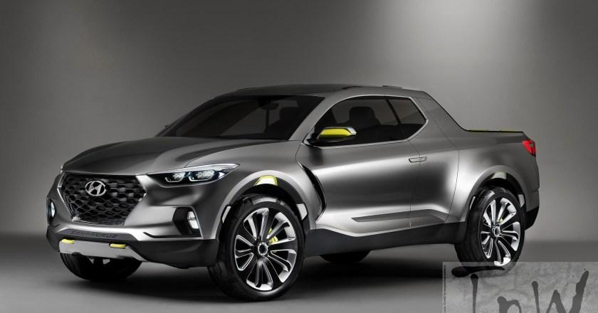 2015 NAIAS DETROIT: Santa Cruz crossover truck concept & Sonata Plug-in Hybrid