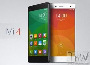 Xiaomi to launch Mi4 in India on Jan 28. Price under 20K