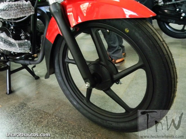 2015 BAJAJ PLATINA 100 ES front brake drum