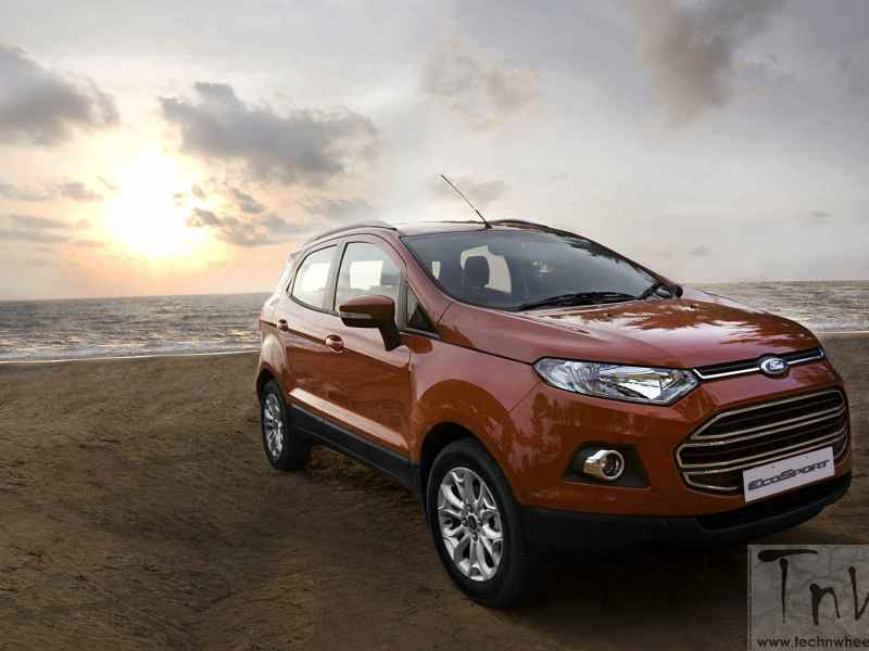 Ford Celebrates 2 lakh sales of made-in-India EcoSport