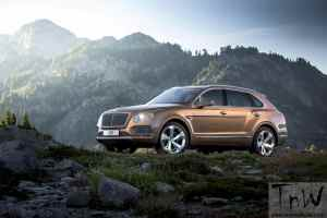 Bentley unveils Bentayga SUV. Public debut at the IAA Frankfurt Show