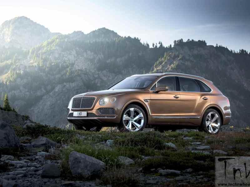 Bentley unveils Bentayga SUV. Public debut at the IAA Frankfurt Show