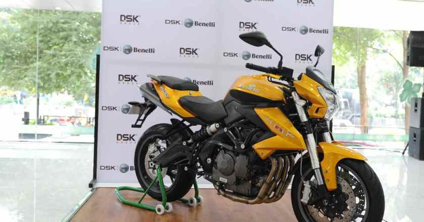 DSK Benelli launches TNT 600i Limited Edition @ 5.66 lakh