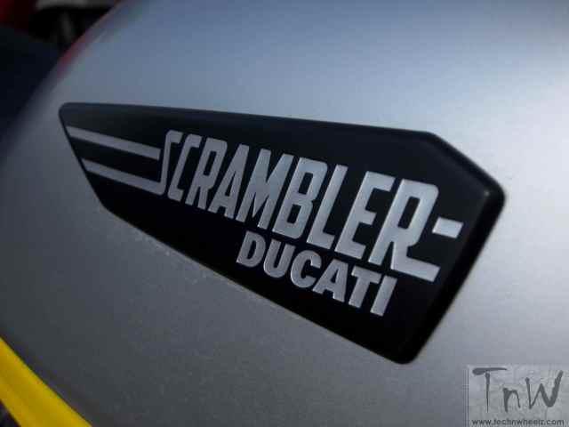 Ducati Scrambler Icon logo