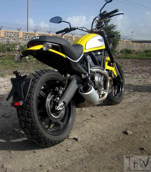 Ducati Scrambler Icon rear