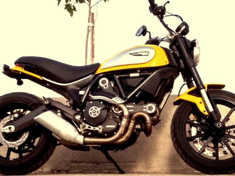 Ducati Scrambler Icon- the classic cult retained