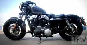 Harley-Davidson Forty-Eight: The Raw Ride