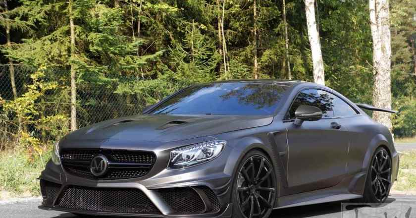 Mercedes S 63 AMG Coupé gets Mansory touch