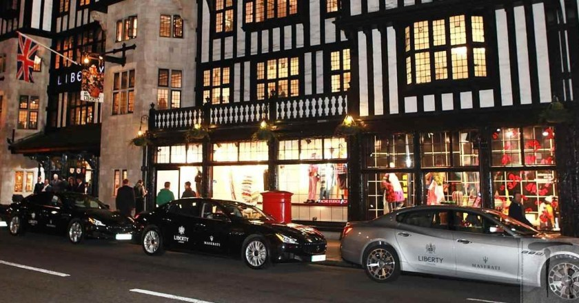 Maserati and Liberty launches the 'Legacy' collection