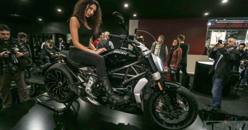 "DUCATI XDIAVEL elected as the ""BEST-LOOKING BIKE"" @ EICMA"