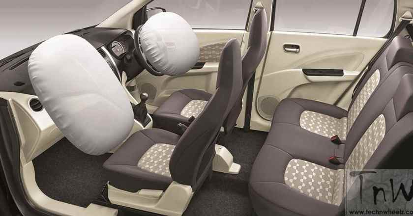 Maruti Celerio gets dual airbags and ABS across all variants