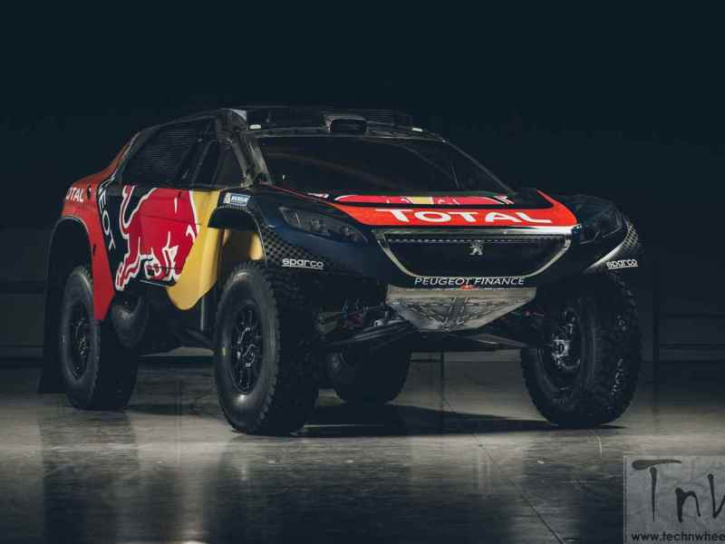 PEUGEOT 2008DKR reveals its Dakar racing colours